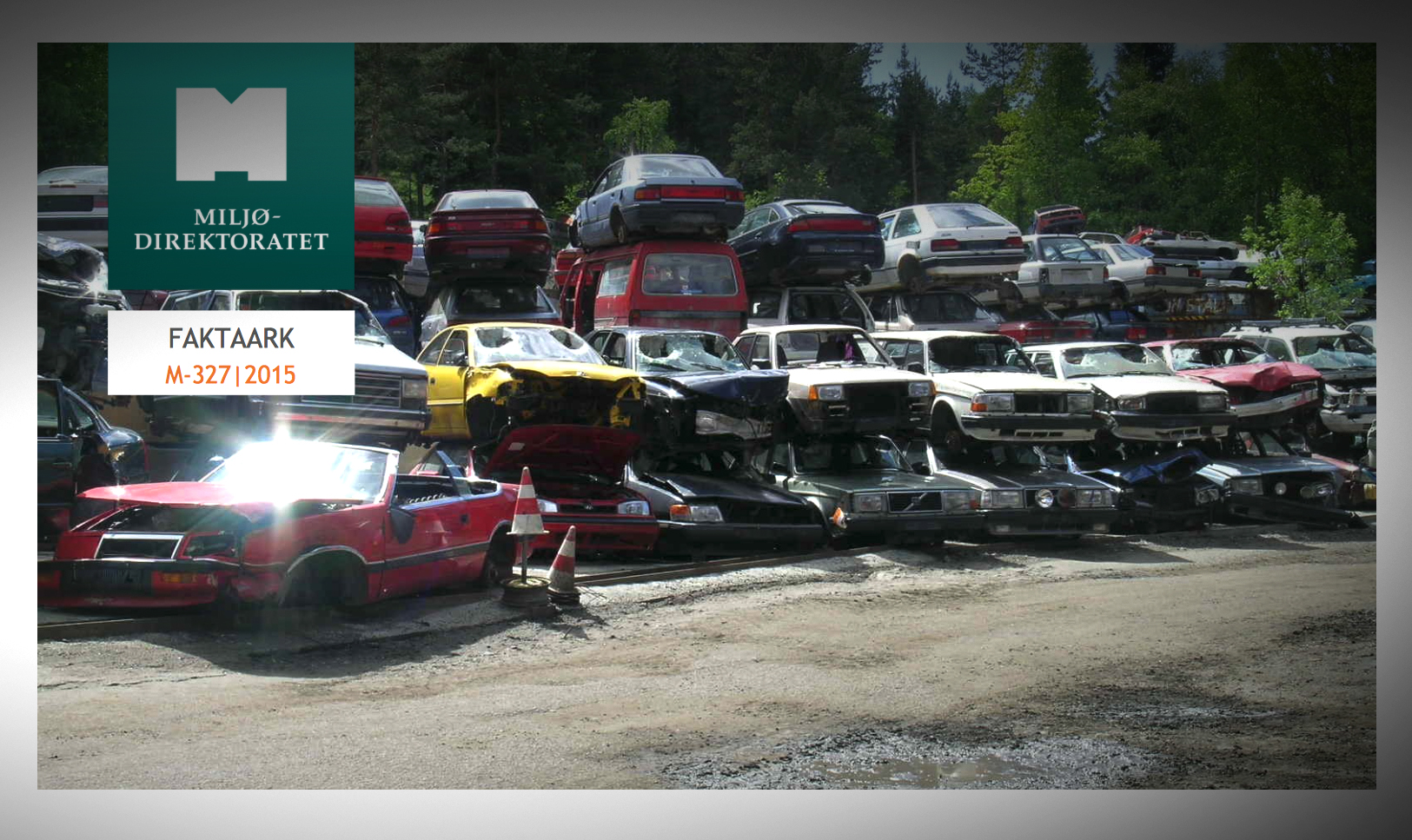 Miljødirektoratet har laget et faktaark for biloppsamlere