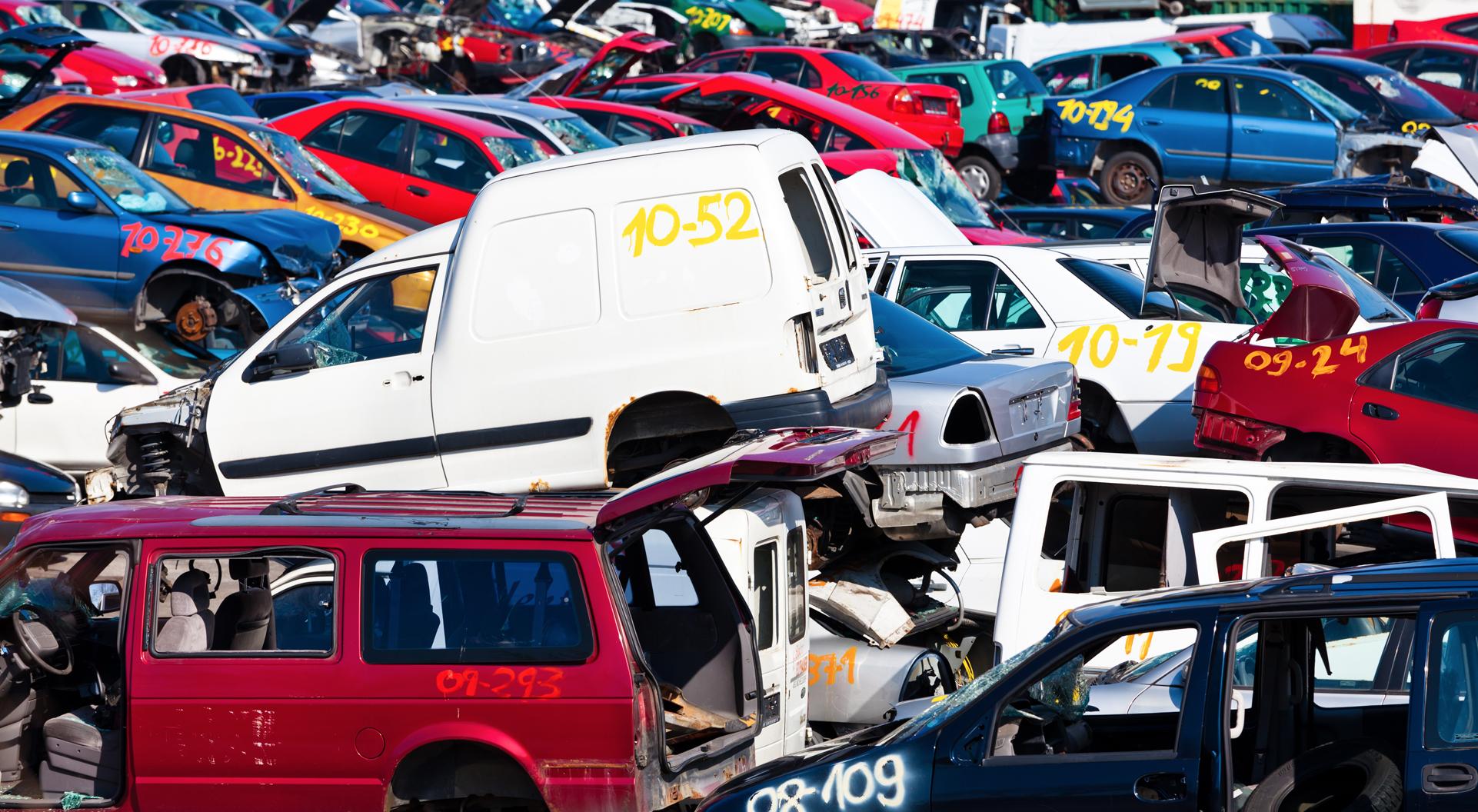 Økt antall vrakede kjøretøy