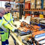 Klar for å gjenvinne høyenergibatterier